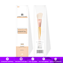 Y105 Duo-end Blush Powder Eyeshadow brush Bamboo Handle Rose Gold Classical Makeup Brush Multifunction Essential Travel Brushes