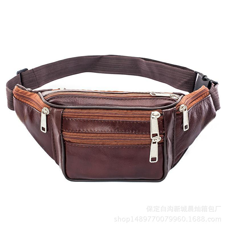 Money Wallet Business Bag Three Layer Large Capacity Multi-functional Wallet BOY'S With Large Size Dad Selling Vegetables Bag Ov