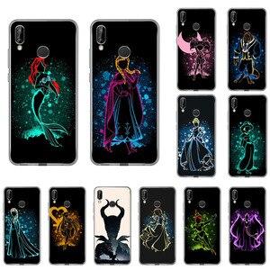 Чехол для телефона Huawei Nova5T Y5 Alice Stitch Bambi Little Mermaid для honor 20 9X 10 8S 8a 20i 8X 9 7A Pro 10i 7s 20s V20