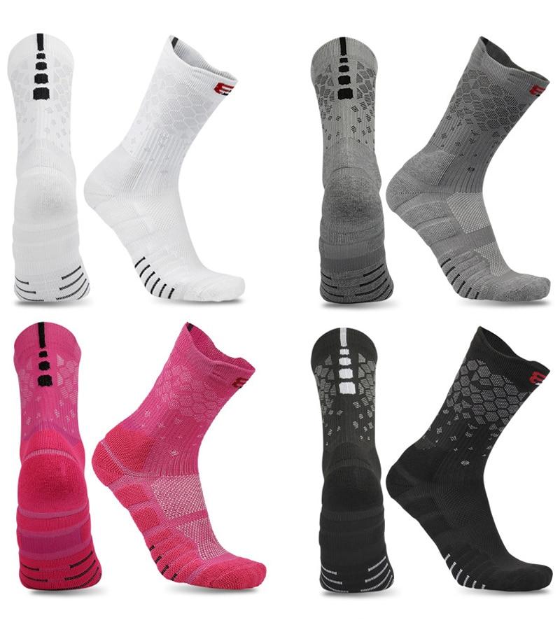 2020 New High Quality Men Women Elite Basketball Socks Cycling Male Cotton Towel Bottom Outdoor Sports Socks Men's Running Socks