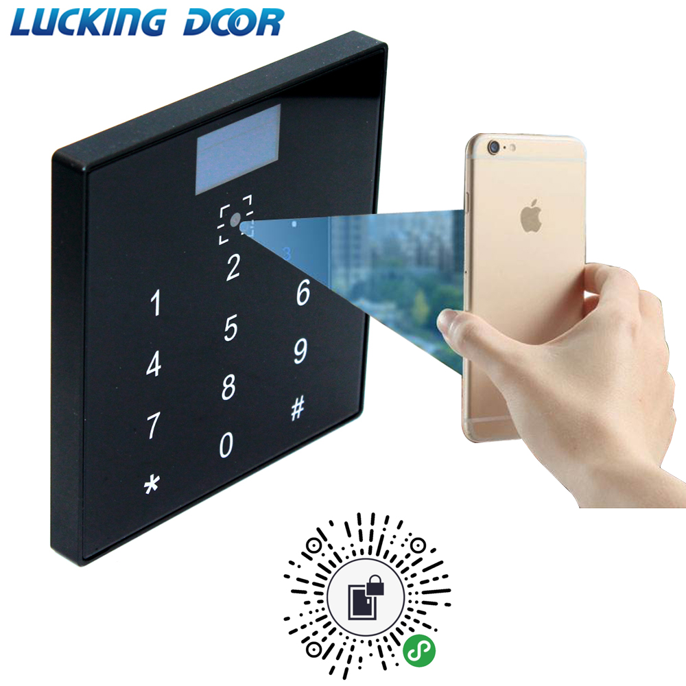 Barcode Qr Code Reader Access Control Reader 13.56Mhz IC Card Reader RS232 RS485 Wiegand 26 34 TTL 20000 User Wechat Free SDK