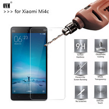 2.5D 0.26mm 9H Premium Tempered Glass For Xiaomi Mi4c Mi 4c Screen Protector Toughened protective film For Xiaomi Mi4c Glass *(China)