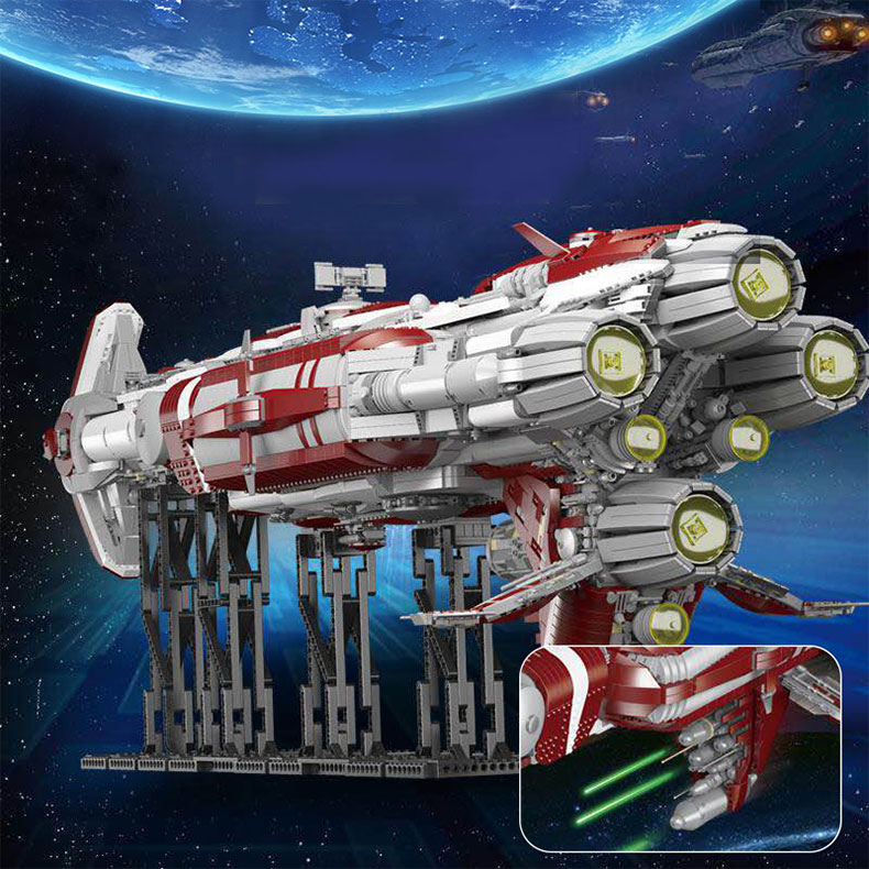 05079 Star Toys Wars The MOC Zenith Old Republic Escort Cruiser Model Compatible With Legoing Building Blocks Kid Christmas Gift 8