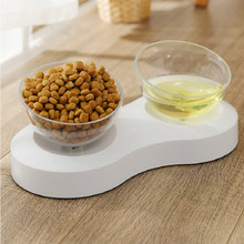 Non-slip Cat Bowls Double Adjustable Angle Pet Food And Water For Cats Dogs Feeders Bowl Supplies 5