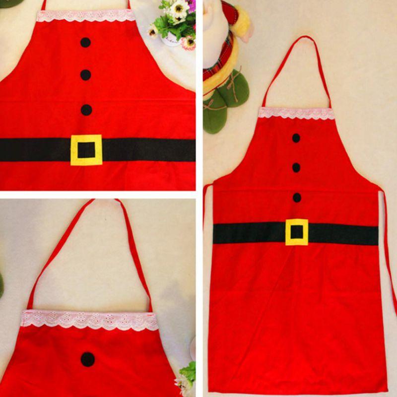 Kerstman Kerst Decoraties voor Huis Keuken Etentje Feestelijke Volwassen Overgooier Noel Decor Kicthen Tool - 3