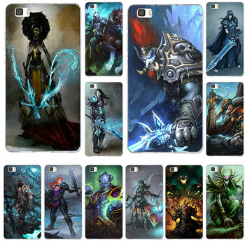 Mobile Phone Cases for Huawei P8 P9 P10 Lite Mate 10 Pro Y3 Y5 Y6 II Y7 Honor 6X 7X 9Plus World Of Warcrafts Lich King Stormrage image