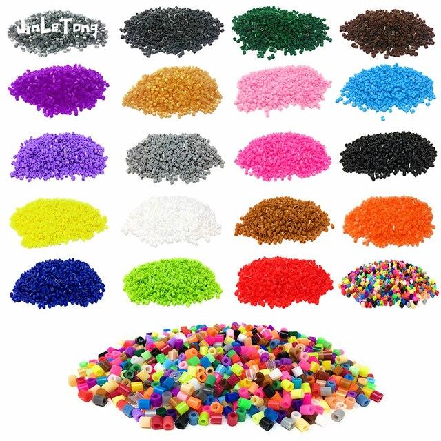 JINLETONG Hama Beads 5mm 1000pcs perler Iron Beads for Kids Hama Beads Diy 3d puzzles  High Quality Handmade Gift Toy 1