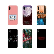 For Apple iPhone X XR XS MAX 4 4S 5 5S 5C SE 6 6S 7 8 Plus ipod touch 5 6 Accessories Phone Shell Covers stranger things
