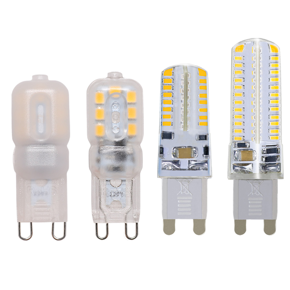 G9 Led Lamp 3W 6W 9W Mini LED Bulb AC220V 360 Degree Lighting Chandelier High Brightness Energy Saving Alternative Halogen Bulb