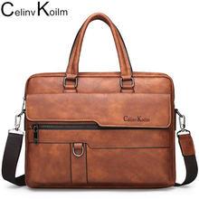 Мужской портфель celinv koilm сумка высокого качества кожаная
