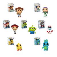 FUNKO POP Toy Story 4 Forky Rex Ducky Woody Brinquedos figurines originales en vinyle dessin animé Collection modèle Anime jouets cadeaux