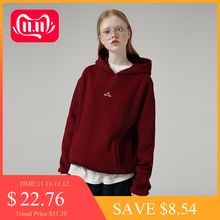 Pullover Hooded Long Loose