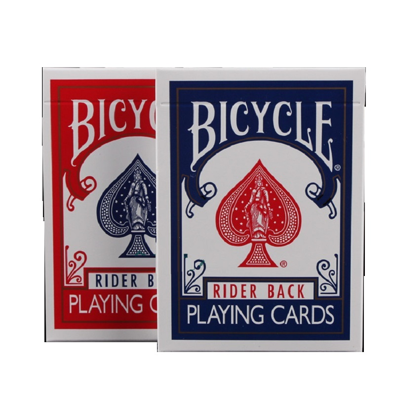 2pcs/Set Bicycle Poker Blue&Red Bicycle Magic Regular Playing Cards Rider Back Standard Decks Magic Trick 808 Sealed Decks