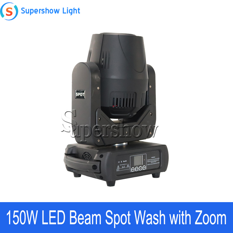 Image 4 - 4pcs With Flightcase 150W Beam Spot Wash Moving Head Light Led DMX Stage Light For Wedding Disco DJ Bar-in Stage Lighting Effect from Lights & Lighting