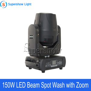 Image 4 - 4pcs With Flightcase 150W Beam Spot Wash Moving Head Light Led DMX Stage Light For Wedding Disco DJ Bar