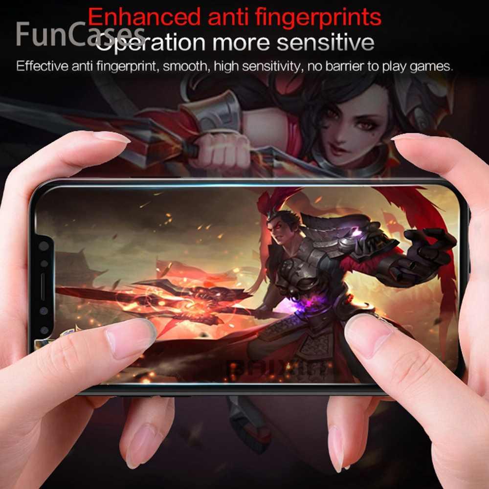 強化ガラス iphone 5 5S 6 6S 7 8 プラス X XR XS iphone 11 プロマックスカバーガラス Sklo 電話 Funda