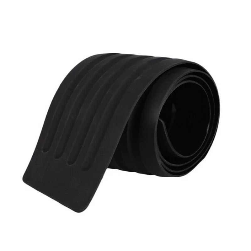 Anti-rayure voiture bande de protection arrière pare-chocs plaque couverture garde Anti-collision SUV Pad moulage décoratif noir