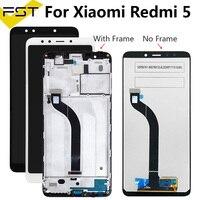 720*1440 para xiaomi redmi 5 5.7 polegada display lcd + tela de toque digitador assembléia substituição com quadro para xiaomi redmi 5|LCDs de celular| |  -