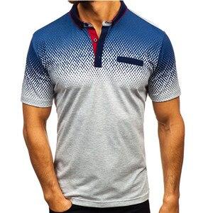 Image 3 - חדש לגמרי גברים של פולו חולצה באיכות גבוהה גברים כותנה קצר שרוול חולצה מותגי גופיות קיץ Mens חולצות פולו camisa פולו s 3XL