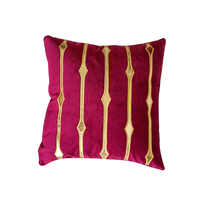 Голландский бархатный мягкий чехол для подушки 45x45 см без внутренней золотой вышивки полосатый квадратный красный хаки диванная Подушка Че...