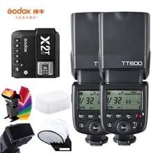 Беспроводная вспышка Godox TT600 TT600S, 2,4G, TTL 1/8000s, с триггером для Canon, Nikon, sony, fuji olympus, N/S/F/O/P