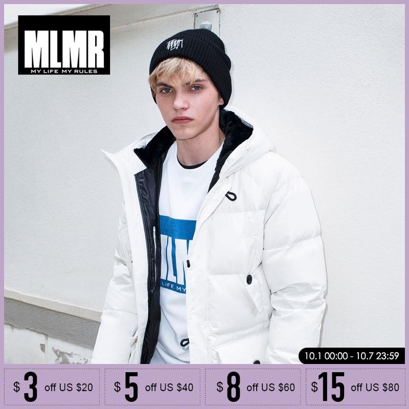 Mlmr 2019 신사복 mid long down jacket 겨울 코트 두꺼운 따뜻한 파카  218312504-에서파카부터 남성 의류 의  그룹 1