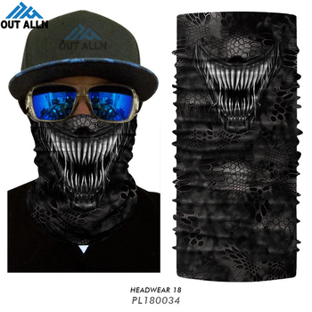 3D Venom Face Mask Deadpool Seamless Bandana Hiking Scarves Outdoor Sports Bandanas Headband Cycling Ski Mask Neck Gaiter Shield 1