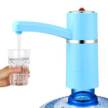 Meinengdi Bottled Water Pumping Water Device Rechargeable Portable Pure Water Intake Device Automatic Pressure Feeder Electric P(China)