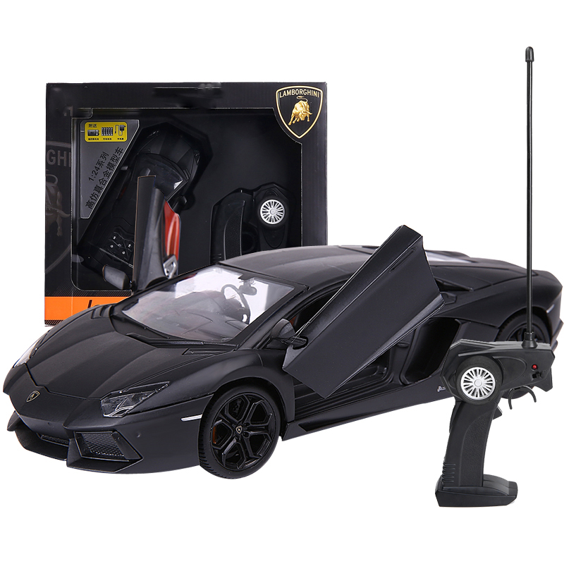 Lamborghini Open Door Rechargeable Alloy Remote Control Vehicle Model Remote Control Toy For Children