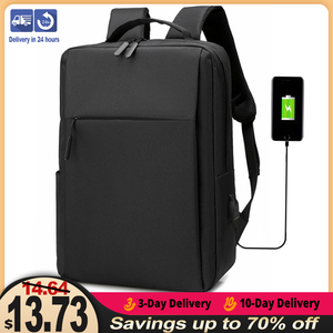 15.6 Inch Laptop Men Backpack Nylon Travel Male Laptop Backpack Usb Charging Computer School Backpacks Waterproof Bag for Men