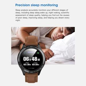 Image 2 - Microwear L9 PPG+ECG Smart Watch Blood Pressure Oxygen Heart Rate Monitoring Fitness Sport Watch IPS Colorful Screen Smart Band