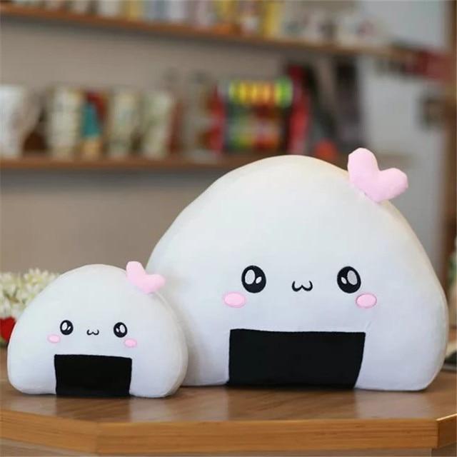 Kawaii Rice Ball Pillow