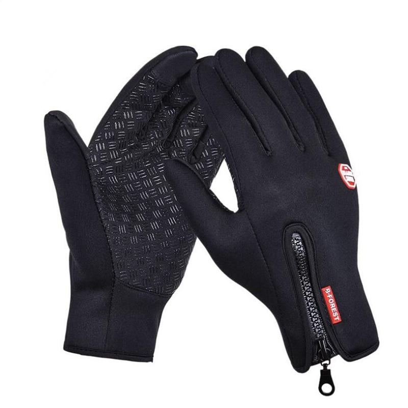 Hot Sale Touched Screen Gloves Winter Men Women Guantes Windproof Male Anti-skid Glove Waterproof Full Fingers Warm Mittens