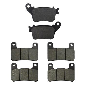 Motorcycle Front and Rear Brake Pads for Kawasaki ZX0R ZX-10R ZX 10R ZX1000 2011-2015 Suzuki GSXR1000 GSXR1000 2009 2010 2011 image