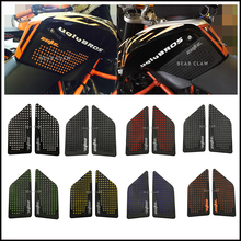 Anti slip sticker Motorcycle Tank Traction Pad Side Knee Grip Protector For KTM DUKE 690