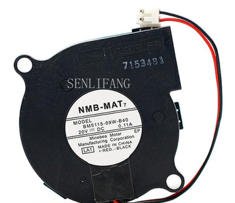Free Shipping BM5115-09W-B40 20V 0.11A 5015 2 Line Cooling Fan