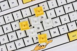 Image 4 - لوحة مفاتيح ميكانيكية للبوكر من بيكاتشو XDA طراز PBT لمفاتيح Cherry MX من 61 84 87 96 108 XD60 XD64 GK61 GK64 GH60