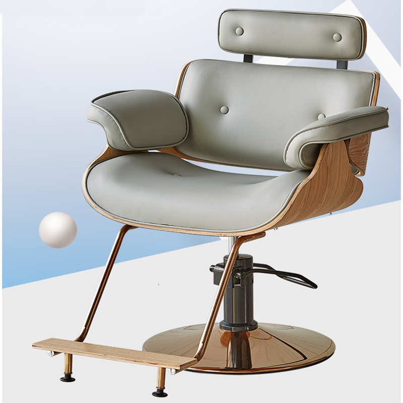 Concise Present Hair Shop Hairdressing Chair Beauty Salon Special-purpose Lift The Barber Shop Chair High Archives Go Down Chair