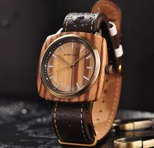reloj hombre BOBO BIRD Men Watch Luxury Brand Wood Waterproof Watches erkek kol saati Christmas Gift for Boyfriend Dropshipping