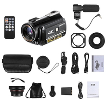 ORDRO AC3 4K WiFi Digital Video Camera Camcorder DV Recorder