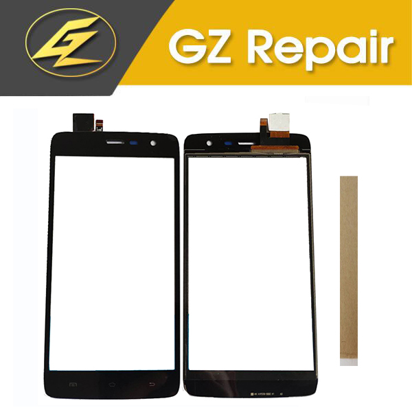 5.0 Inch Black Color For Vertex Impress Saturn Touch Screen Glass Digitizer Glass Sensor With Tape
