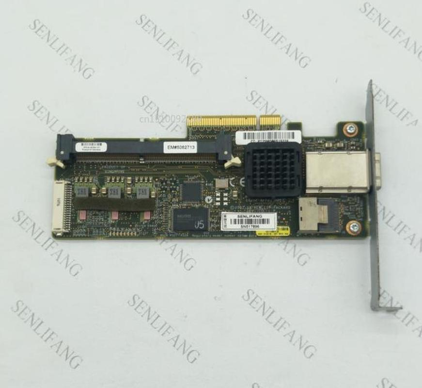 USED 462594-001 462828-B21 013218-001  For HP P212 SAS HBA Card RAID Controller Card Support Raid 0 , 1 , 5 With 256M RAM