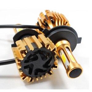 Image 5 - PANDUK LED פנס 16000LM 4300K 6000K 9005 H1 880 H4 Led H3 H7 LED H11 Led 3000K 9006 HB3 HB4 הנורה סופר מואר רכב אור 12V