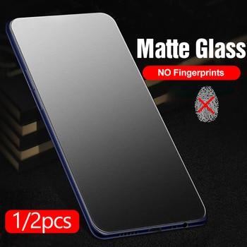 2pcs 9D Frosted matte protective Glass For xiaomi poco x3 Glass xiomi poco x 3 NFC 3x pocox3 screen protector tempered glas Film