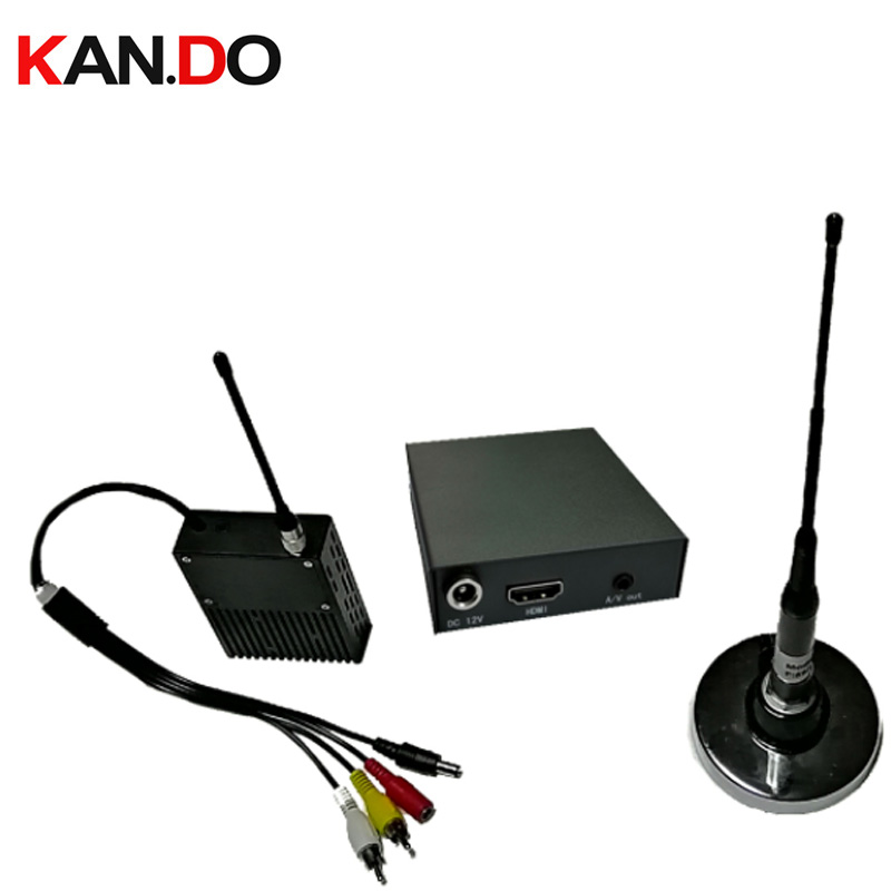 Émetteur NLOS 2W COFDM émetteur-récepteur 500-700M émetteur vidéo de travail émetteur d'image de transmission d'image militaire