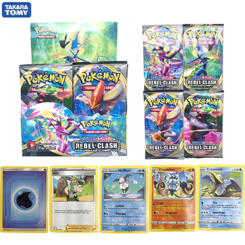 Card Toys 360pcs Pokemon Cards Box TCG: Sun & Moon Sword shield Unified Minds Cosmic Eclipse Random Box Pokemon Cards V GX Tag 2