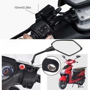 """Image 2 - Stop aluminium 360 ° rower kierownica motocykla lusterko wsteczne uchwyt telefonu komórkowego Cradle uchwyt rowerowy dla 2 7 """"telefon komórkowy GPS"""