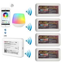 Milight 2.4G אלחוטי דימר WiFi גשר תיבת WL Box1 יחיד צבע עמום RGB RGBW RGBCCT FUT036 FUT037 FUT038 FUT039 LED בקר