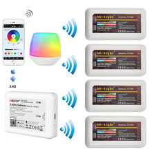 Milight 2.4G Wireless Dimmer WiFi Bridge กล่อง WL Box1 เดี่ยวสี DIM RGB RGBW RGBCCT FUT036 FUT037 FUT038 FUT039 LED CONTROLLER