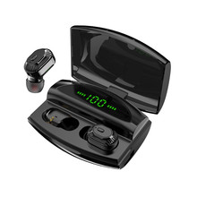 XG20 TWS Wirleless Earphones Bluetooth 5.0 Sports 8D Stereo Cordless Earbuds Headset 3500mAh Charging Bin
